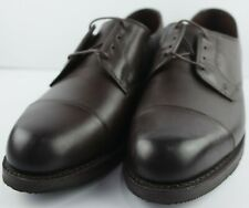 Allen Edmonds Men's ROAD WARRIORS Dark Brown Cap Toe Oxfords Size 9 D
