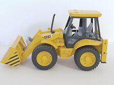 Bruder JCB 4CX Front End Loader 02428 Plastic Toy Made in Germany