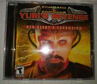 Command & Conquer: Yuri's Revenge -- Red Alert 2 Expansion (PC, 2001)