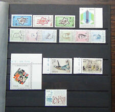Italy 1978 Famous Italians 1995 Congress Writer 1997 Europa sets etc MNH