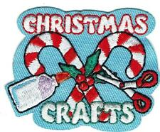 Girl Boy Cub CHRISTMAS CRAFTS Candy projects Patches Crests Badges SCOUT GUIDES