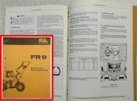 Fiat-Allis Fiatallis FR9 Radlader Bedienungsanleitung Betriebsanleitung 1983