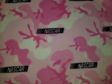 28X28 PERSONALIZE PINK NASCAR RACE CAR CAMOUFLAGE DOG PUPPY BED CRATE MAT