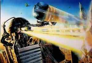 Silver Surfer & Fantastic Four vs Galactus- Alex Ross MARVELS Poster Print 11x16