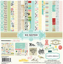 Carta Bella 12x12 Collection Kit - So Noted