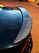 Dry Carbon Fiber rear spoiler trim layover Fit Dodge Charger SRT hellcat 2016-20