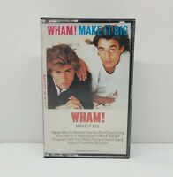 Wham! Make It Big Cassette Tape 1984 Untested Used Condition