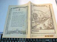 quaderno XVIII FIERA MILANO AUTOTRENO FIAT  originale 1937