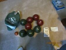 Eddie Bauer Bocce Ball Set With Canvas Carry Bag