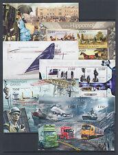 Burundi Sc 1241-1290 MNH. 2012 Transportation & Space, set of 50 souvenir sheets
