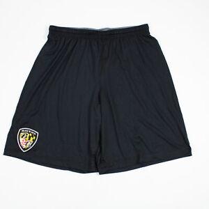 Baltimore Ravens Under Armour HeatGear Athletic Shorts Men's Black Used