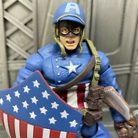 """Marvel Legends Hasbro Ultimate Captain America from Fury 2 Pack 6"""" Action Figure"""