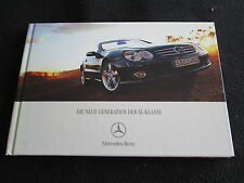 2006 07 Mercedes Benz SL-class GERMAN Hardcover Brochure 350 SL500 600 SL55 AMG