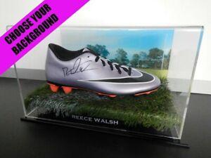 ✺Signed✺ REECE WALSH Boot PROOF COA New Zealand Warriors 2021 Jersey NRL