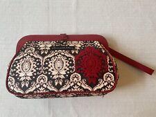 Petunia Pickle Bottom Black White & Red Wristlet Diaper Bag