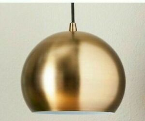 PROJECT 62 Span Metal Globe Pendant Ceiling Light Brass Lamp-Gold / Silver 110V