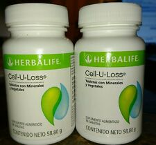 2 NEW HERBALIFE cell u loss 90 tablets each. FREE SHIPPING!!