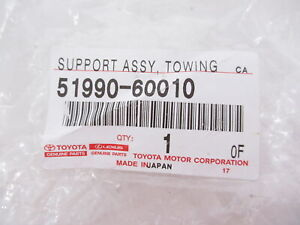 Genuine OEM Toyota Lexus 51990-60010 Towing Hitch Attachment Support