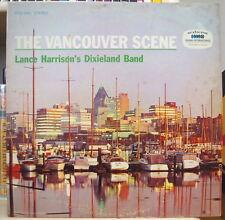 LANCE HARRISON'S DIXIELAND BAND THE VANCOUVER SCENE CANADA PRESS LP DISQUES RCA