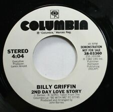 Soul Nm! 45 Billy Griffin - 2Nd Day Love Story / 2Nd Day Love Story On Columbia