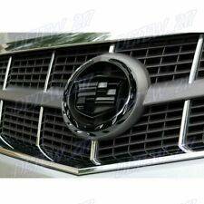"For Cadillac Front Grille 6"" Emblem Hood Badge Logo Black Symbol Ornament 1PCS"