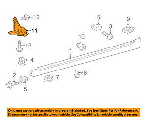TOYOTA OEM 12-15 Prius Plug-In Exterior-Closing Plate Right 6563147070