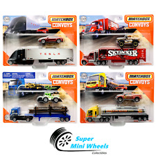"Matchbox 2020 Super Convoy ""A"" Assortment Tesla Semi / Tesla Model S"