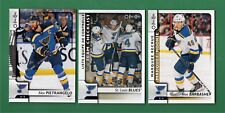 2017-18 O-Pee-Chee St. Louis Blues Team Set 20 Cards Includes 3 Short Prints