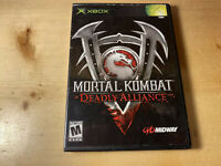 Mortal Kombat: Deadly Alliance (Microsoft Xbox, 2003) Ships Free