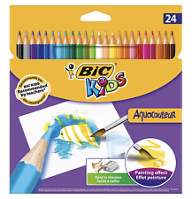 Coloured Pencil Pack of 22 Long Size,Full Size Pencils Assorted Colours 10-0219