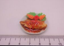 1:12th  Steamed fish with  delicious sauce. Miniature Food