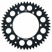Primary Drive Rear Aluminum Sprocket 49 Tooth Black