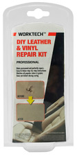 WorkTech Premium Leather & Vinyl Repair Kit Diy Fix Upholstery Rips Tears Seat