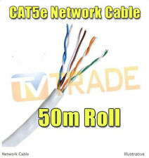 50M Cat5E Roll Network Cable Lan Cable Category 5e RJ45 Ethernet