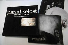 PARADISE LOST IN REQUIEM DELUXE CD ALBUM DIGIPAK 2 BONUS TRACKS VELVET BOX