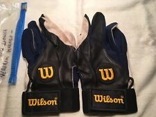 Melvin Nieves Signed Game Used Batting Gloves Detroit Tigers 1 90's MLB
