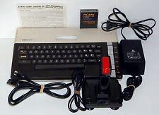 Console ancienne de jeux video ATARI 800 XL à cartouches avec jeu PAC-MAN testé