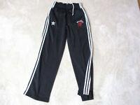 Adidas Miami Heat Warm Up Pants Adult Small Black NBA Basketball Joggers Mens