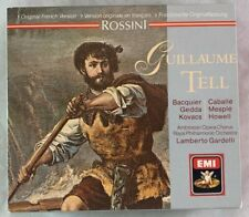 Classical CD Box Set / Rossini EMI Original French Version Gullaume Tell