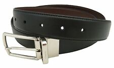 NEW Men's COACH Reversible Belt Cut To Size Black Brown Leather F64824