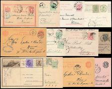 Rumania Papelería + mejorado 1874-1939 Tarjetas Etc...12 artículos