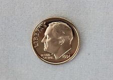 1994-S Roosevelt Clad Proof Dime Cameo