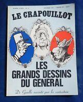 LE CRAPOUILLOT n°14 nouvelle série. LES GRANDS DESSINS DU GÉNÉRAL.  1971
