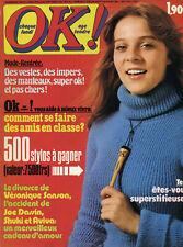 Magazine OK! n°35,  SHUKI & AVIVA, Véronique SANSON, Joe DASSIN, Mort SHUMAN