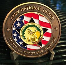 Army National Guard Materiel Programs Division NGB-ARQ Challenge Coin