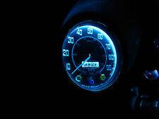 Austin Mini Smiths Dash 2 3 Clock Gauge LED Complete 9 Bulb Set Kit Ice Blue T10