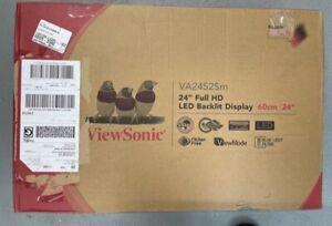 "ViewSonic VA2452SM-H2 24"" Full HD 1920x1080 LED MVA Panel Monitor"