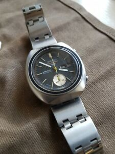 1970 Seiko 6139-8000 Speedtimer 5 Sports Automatic Chronograph - JDM Proof Dial