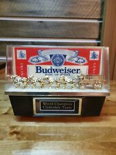 New listing Vintage Budweiser World Champion Clydesdale Team Light Man cave