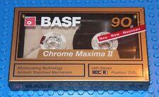 BASF  CHROME MAXIMA  II    VS. II    90   BLANK CASSETTE TAPE (1) (SEALED)